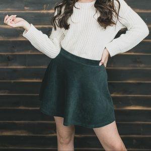 Skater styled skirt